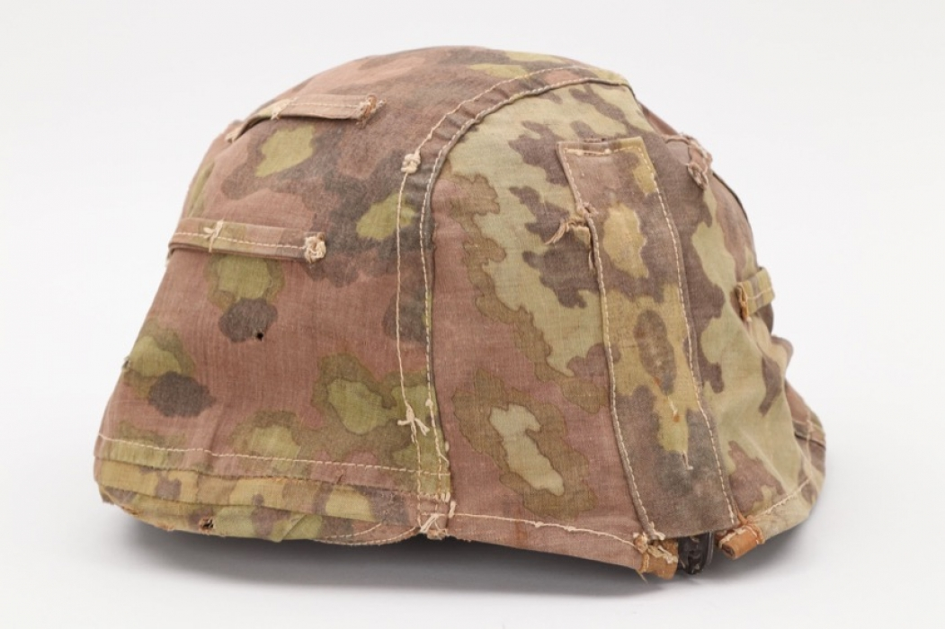 Waffen-SS reversible camo helmet cover