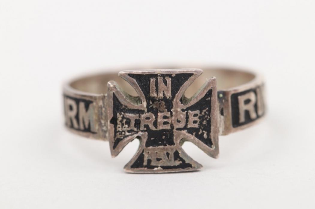 """1914 Bavarian """"Landsturm"""" ring - 800"""