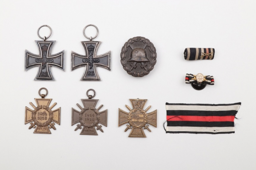 WWI medal grouping