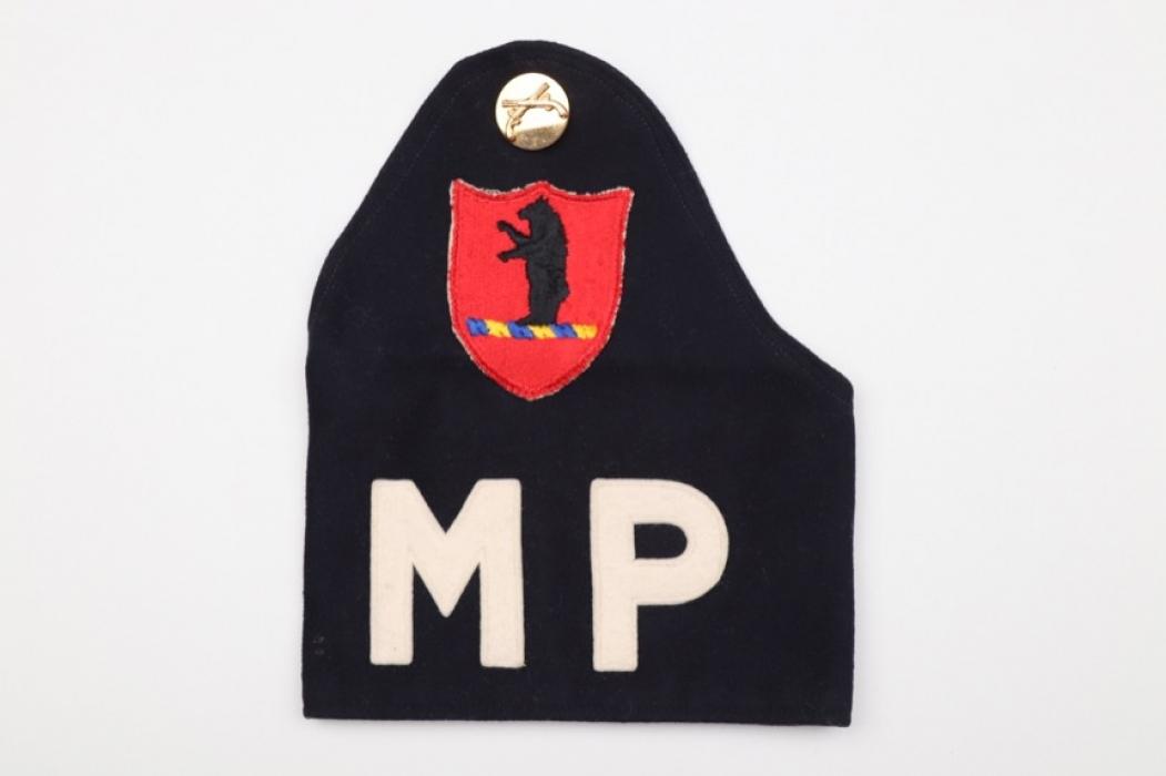 US Army MP  brassard