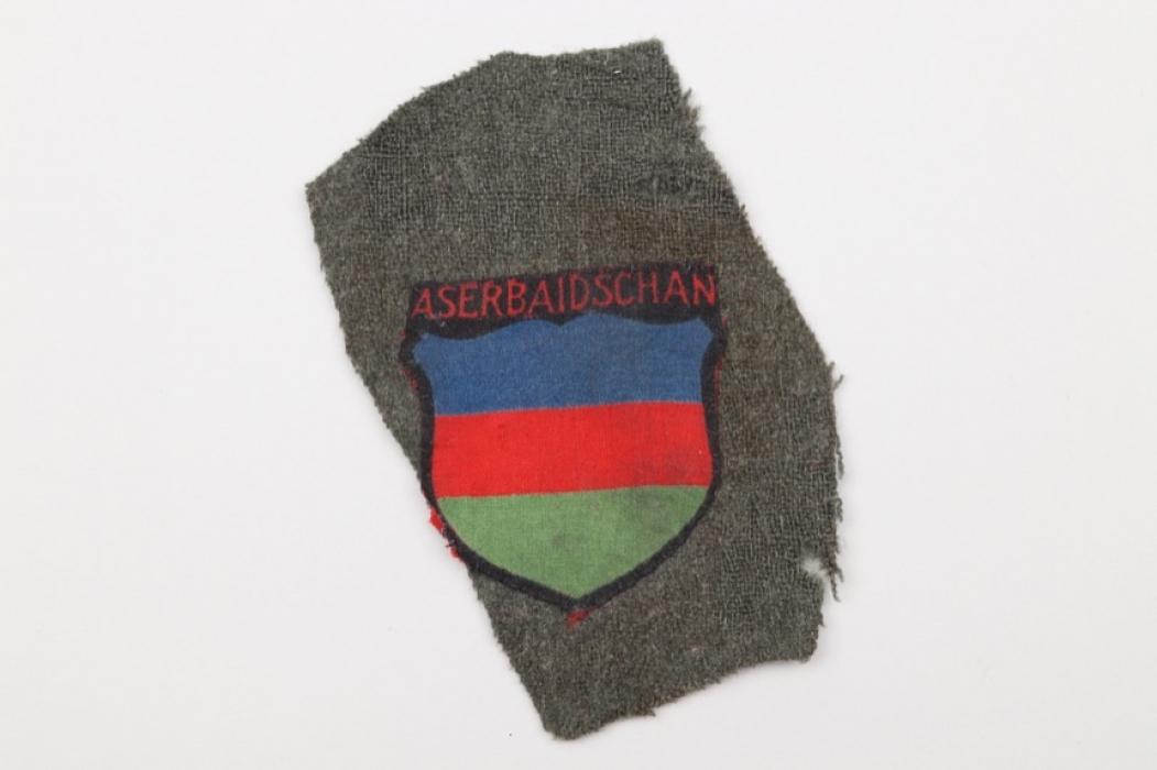 Heer Aserbaidschan volunteer's sleeve badge