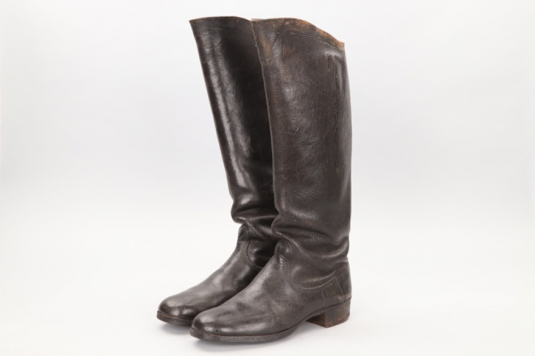 Imperial Germany - WW1 cavalery boots EM/NCO