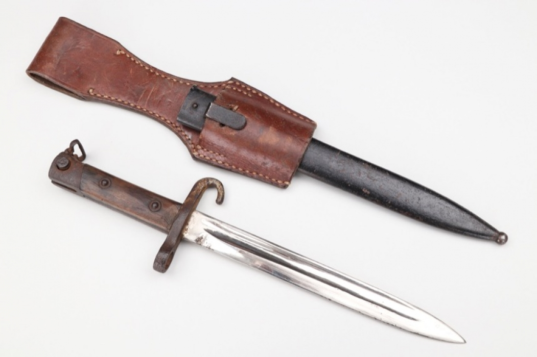 """Austria-Hungary - bayonet """"Mannlicher"""" M1895 with frog"""