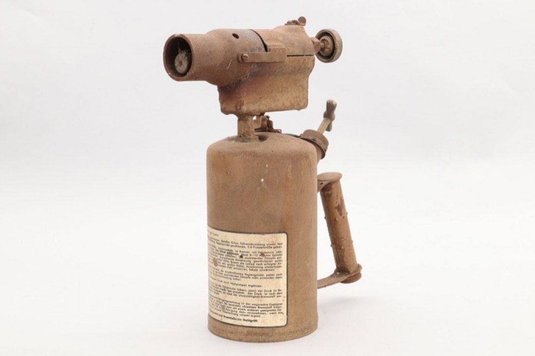Wehrmacht gasoline blow torch - Missler