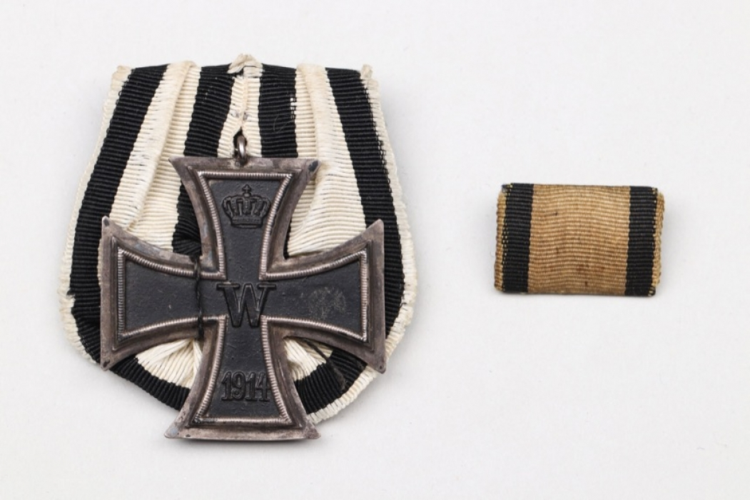 1914 Iron Cross 2nd Class medal bar