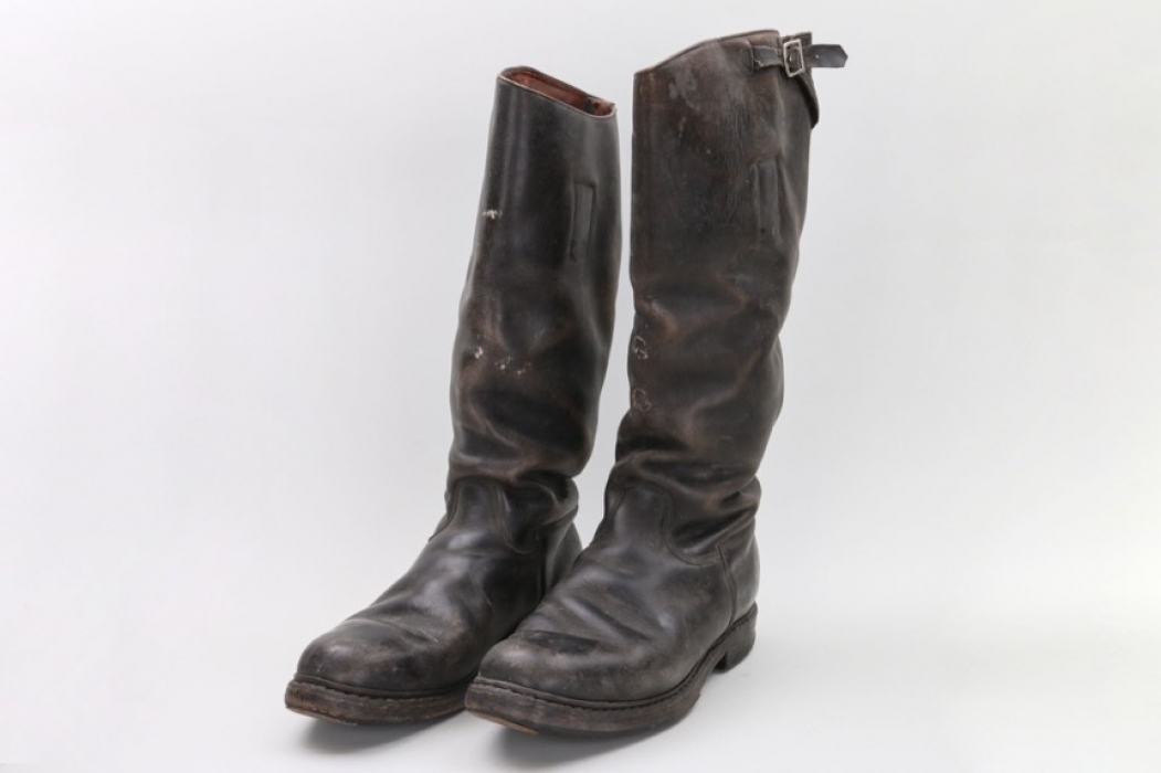 Wehrmacht officer's field boots