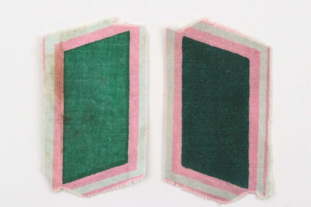 Wehrmacht Georgian Legion EM collar tabs
