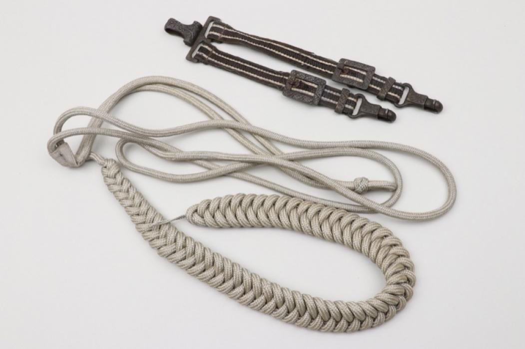 Hangers for Luftwaffe Officer's Dagger & aiguillette