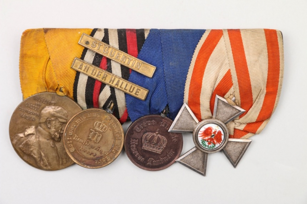 Prussia - 4-place medal bar
