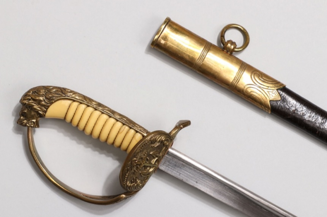 Kriegsmarine officers Lion's head sabre (replica)