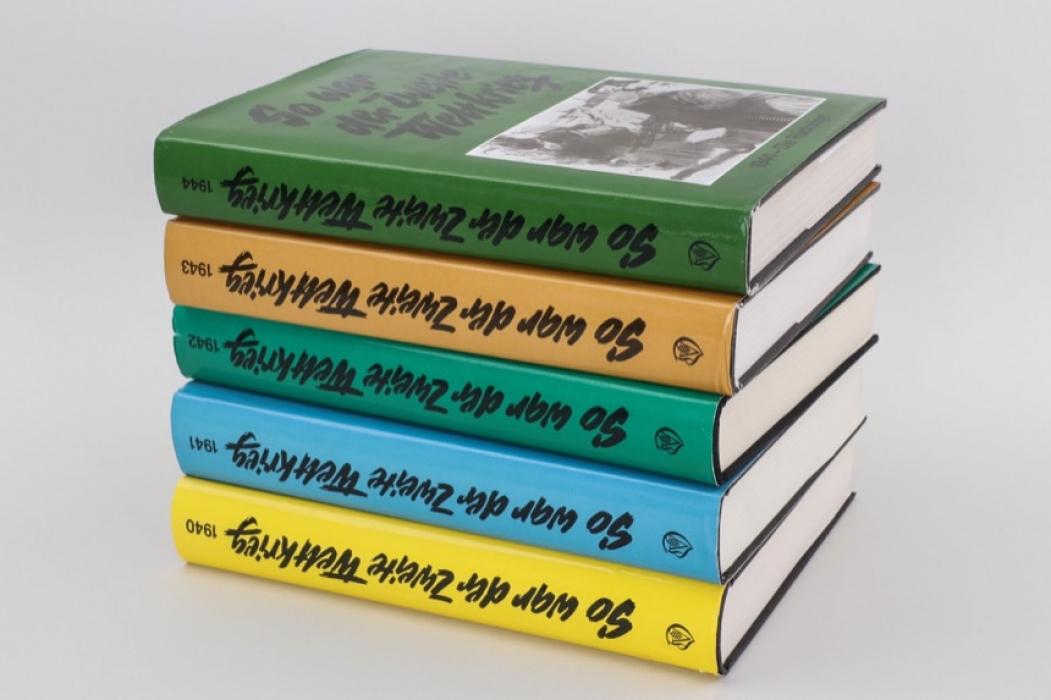 So war der zweite Weltkrieg - Bände von 1940 bis 1944