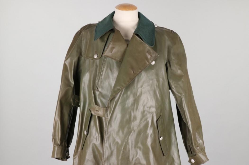 Postwar German motorcyclist's coat - BGS