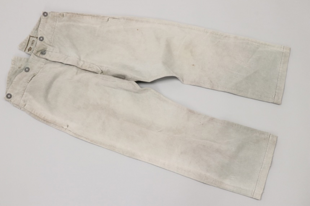 WW1 Swedish straight working trousers