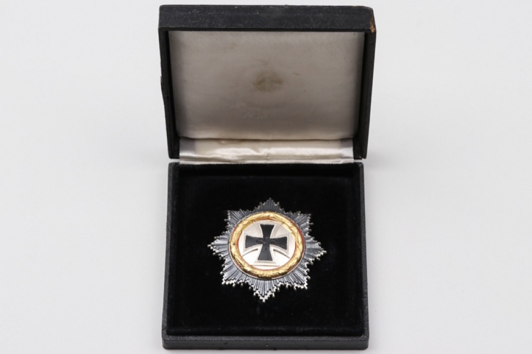 1957 German Cross in gold in case - S&L