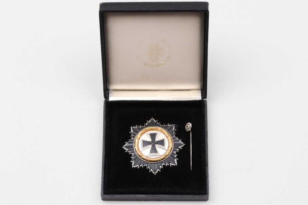 1957 German Cross in gold in case & miniature - S&L