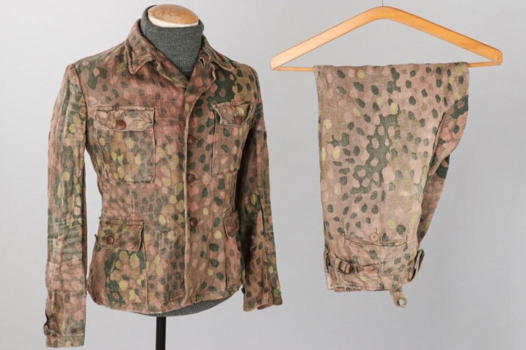 Waffen-SS M44 pea-dot camo tunic & trousers