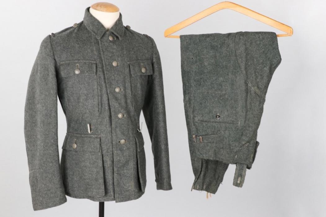Waffen-SS M43 field tunic & trousers