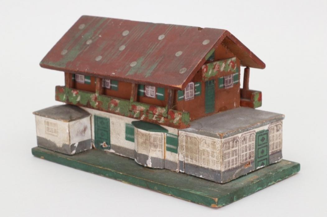 "Third Reich ""Haus Wachenfeld"" savings box"