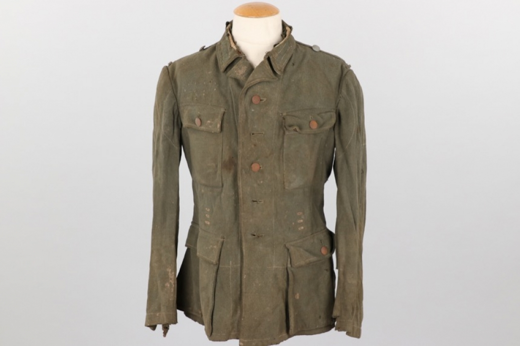 Waffen-SS / Heer M43 field tunic - stripped