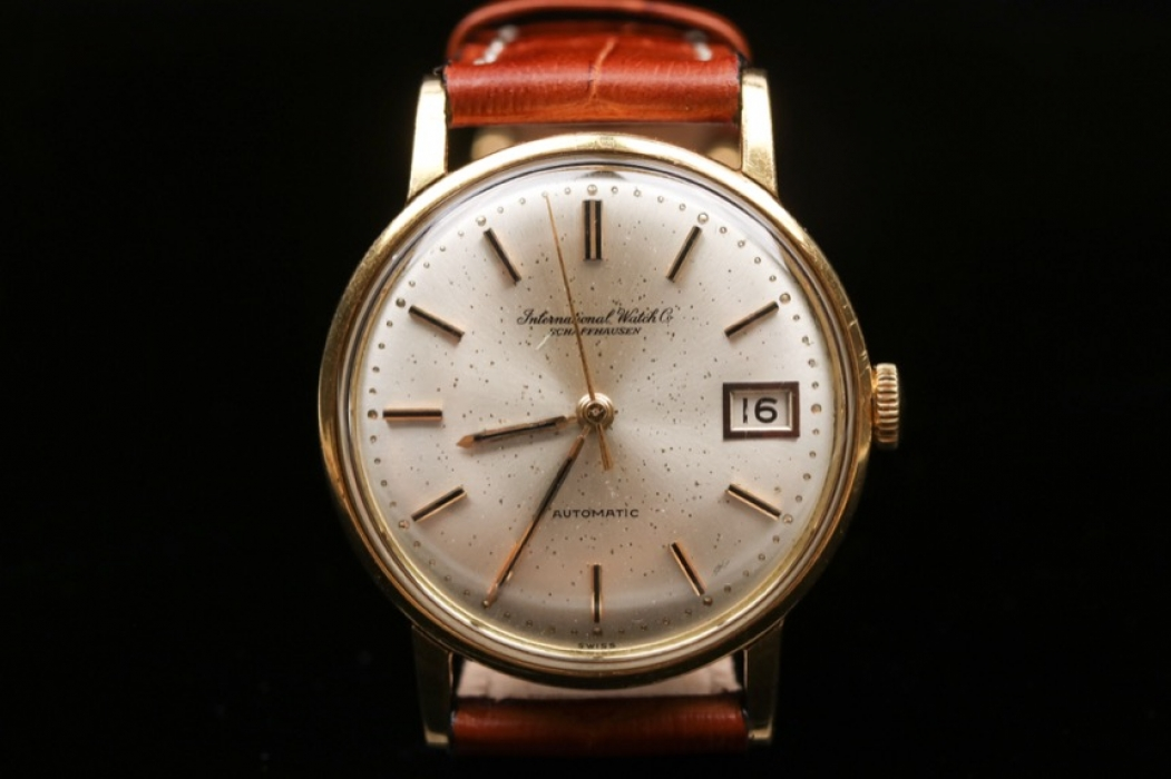 IWC - watch with 18kt gold case from the 60s