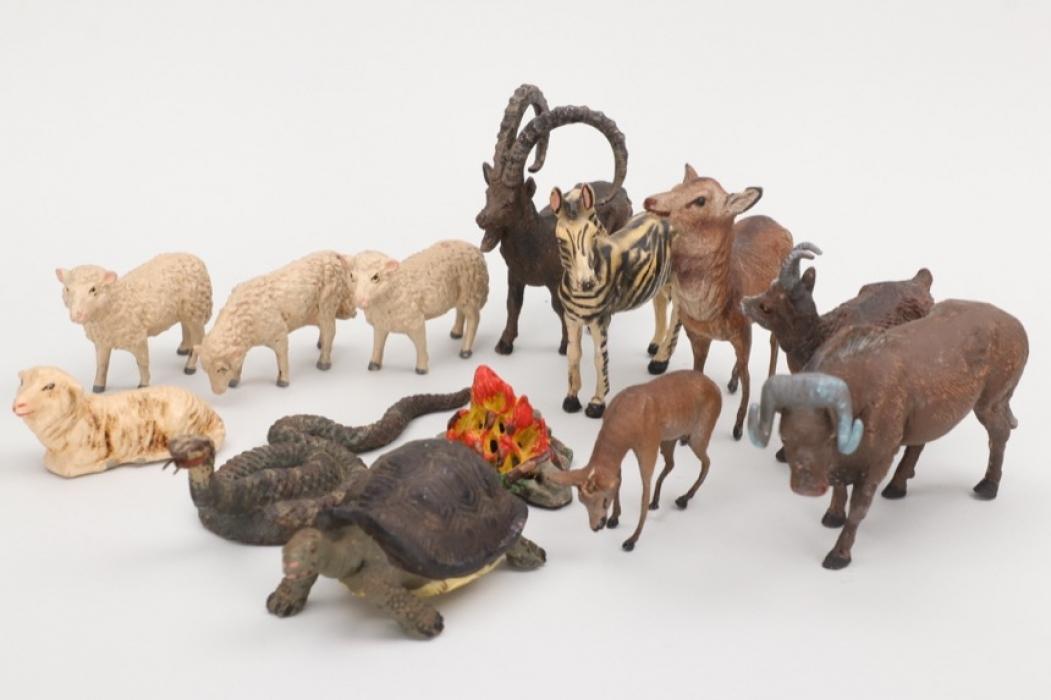 Elastolin - Konvolut Tiere