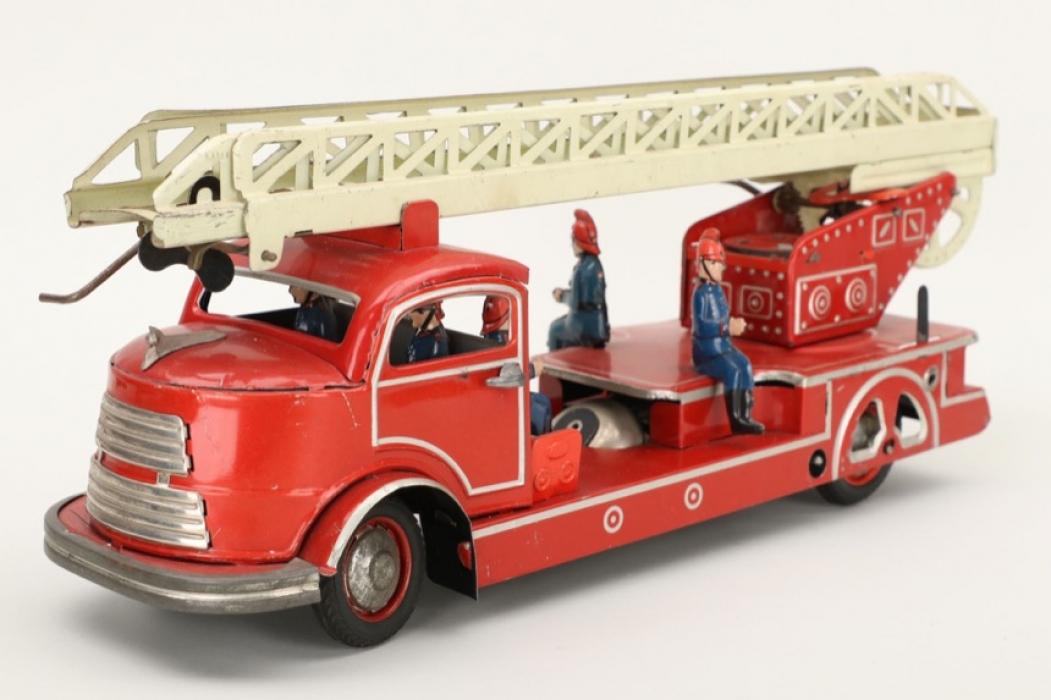 Bühler -  Feuerwehrauto mit Drehleiter