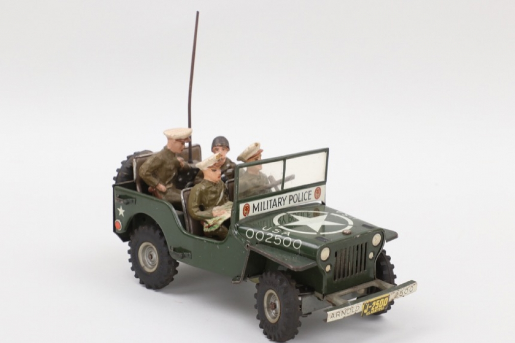 """Arnold - Modell Nr.2500 Willys Jeep """"Military Police""""."""