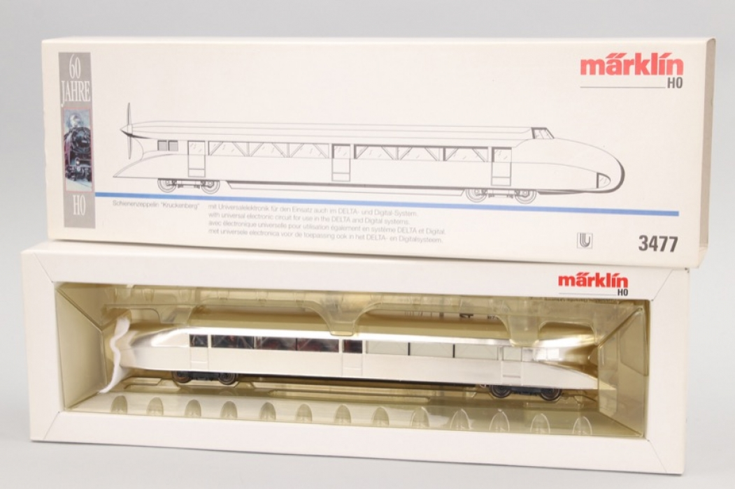 "Märklin - Modell Nr.3477 Schienenzeppelin ""Kruckenberg"" Spur H0"