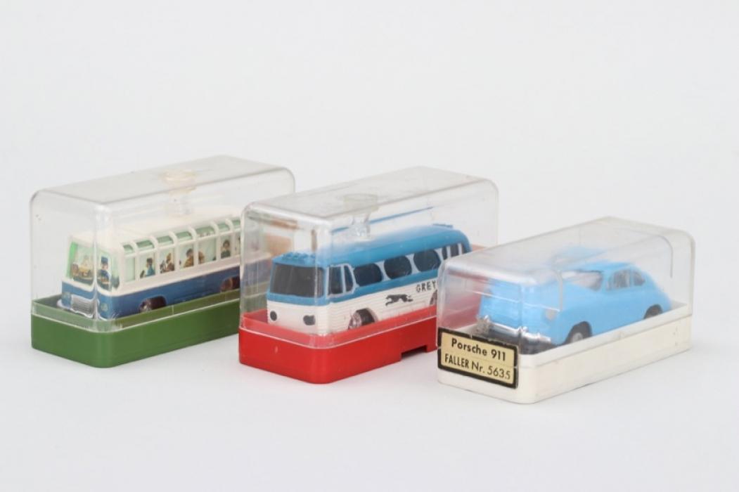 Faller -  Drei Autos für die Rennbahn