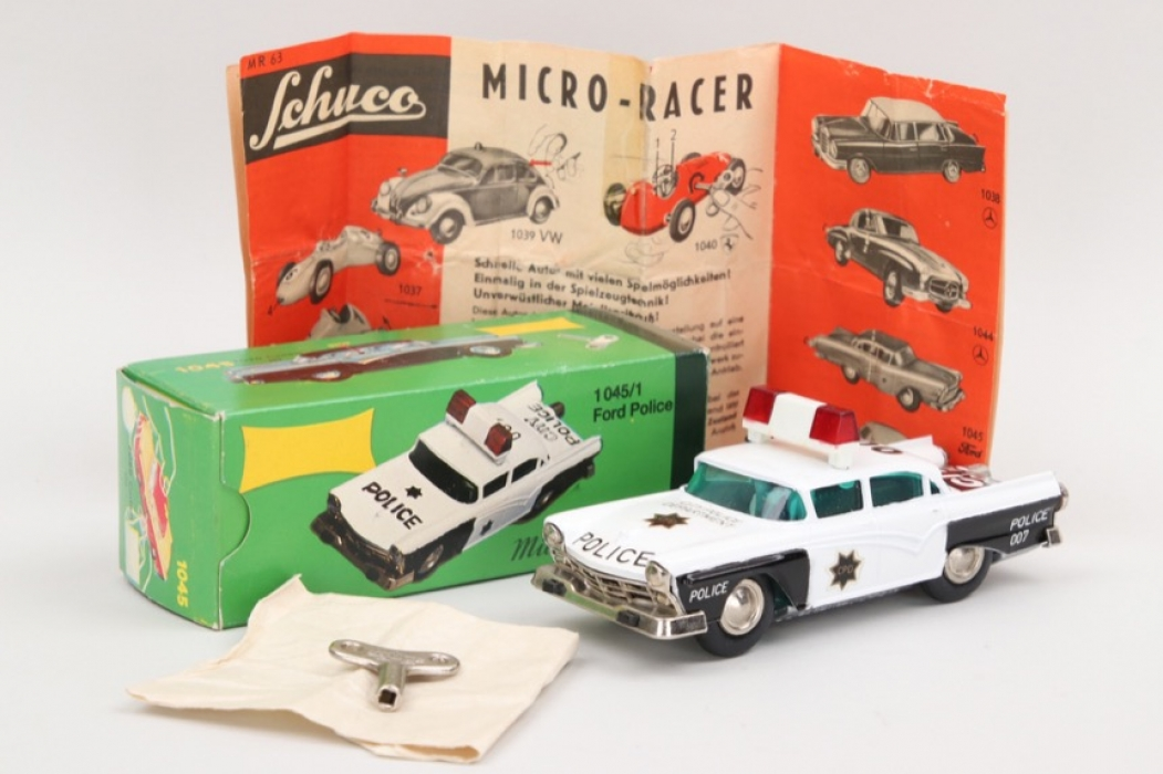 "Micro Racer - Modell Nr.""1045"" Ford Police"