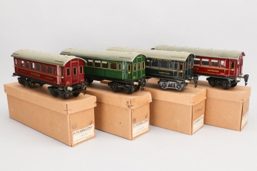 Märklin - Konvolut Wagons Spur 0