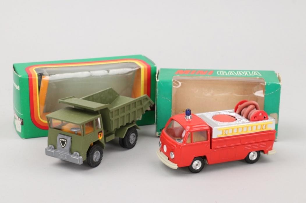 """Gama - Zwei """"Gama -Mini"""" Autos"""