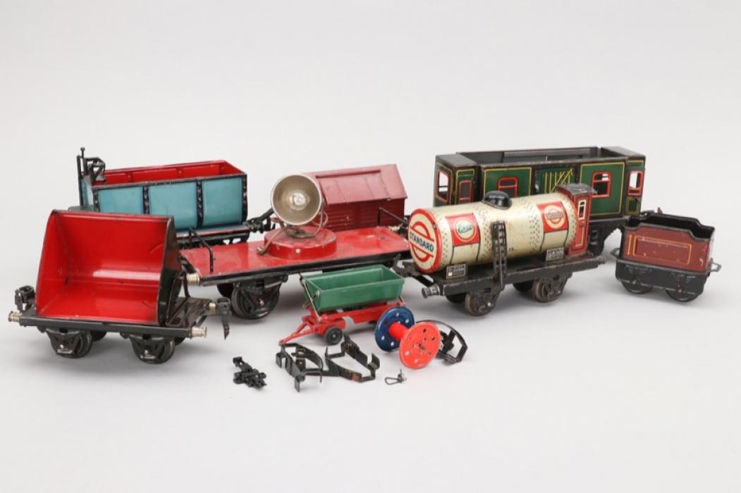 Märklin - Bing - Konvolut Wagons