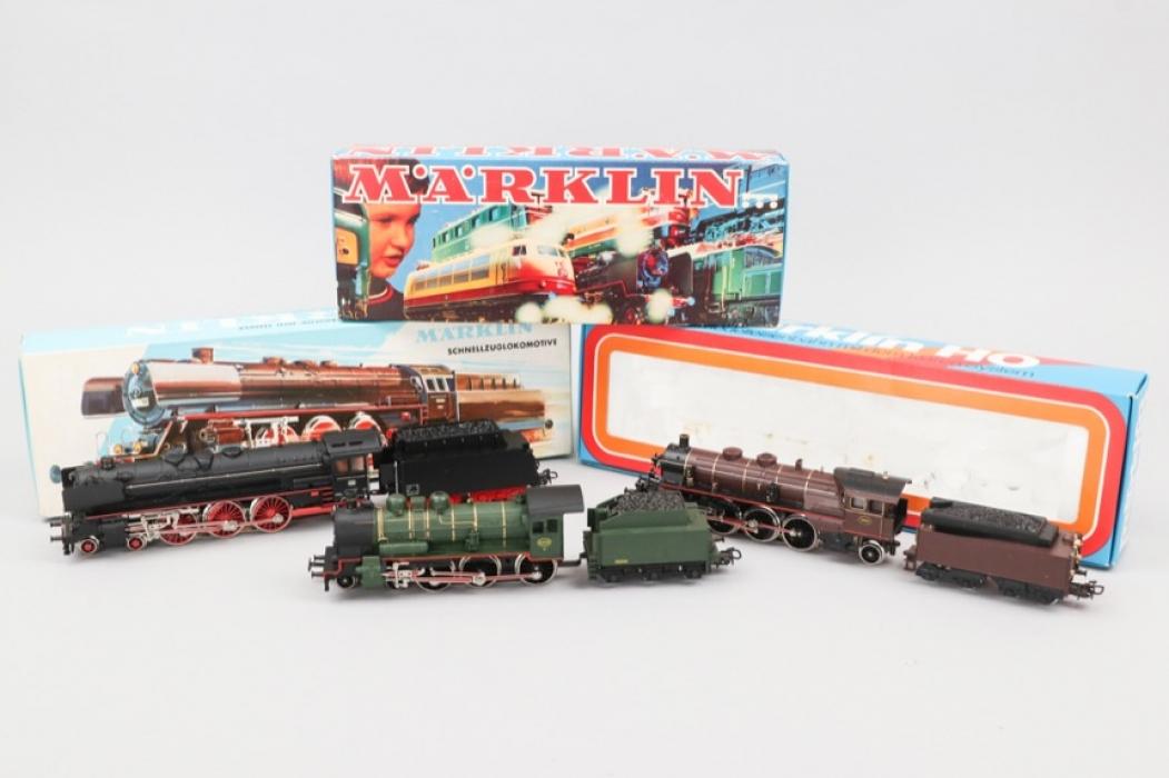 Märklin - Lokomotiven Konvolut Spur H0