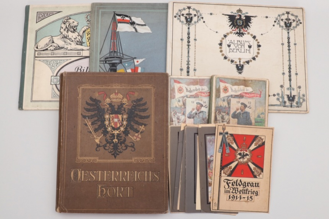 Lot of imperial WW1 related books