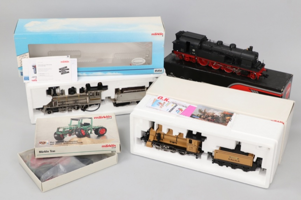 Märklin - Konvolut Eisenbahn & Fahrzeuge