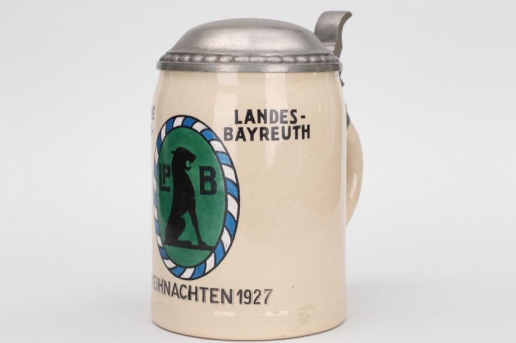 1927 Bayerische Landespolizei Bayreuth beer mug