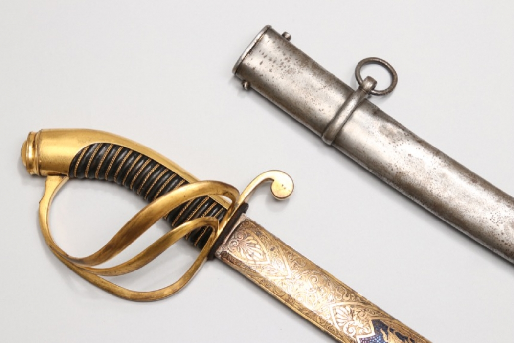 Russia - cavalry sabre 1824 with impressive blade