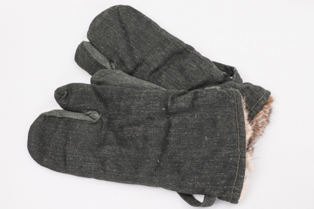 "Wehrmacht ""Drillich"" winter mittens"