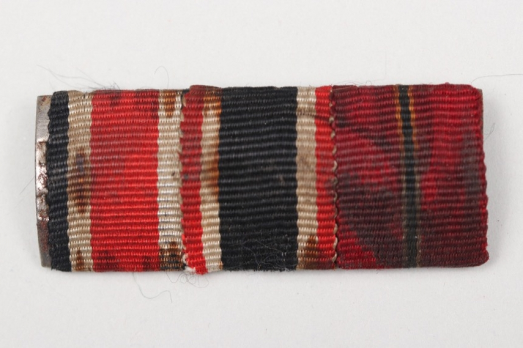 Wehrmacht 3-place ribbon bar
