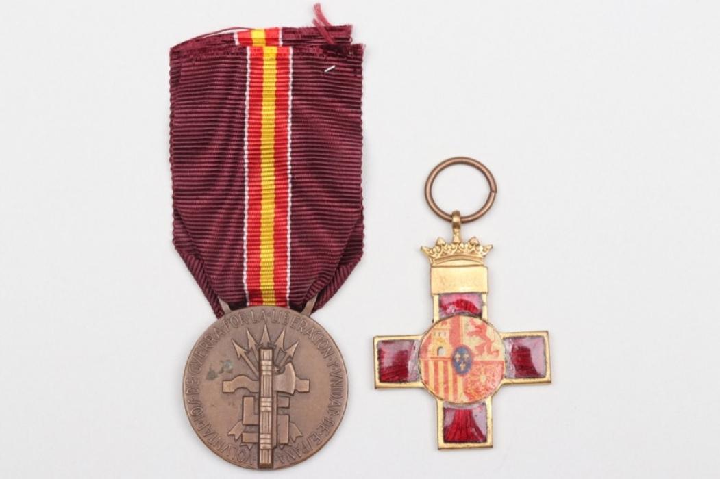 2 + Legion Condor medals