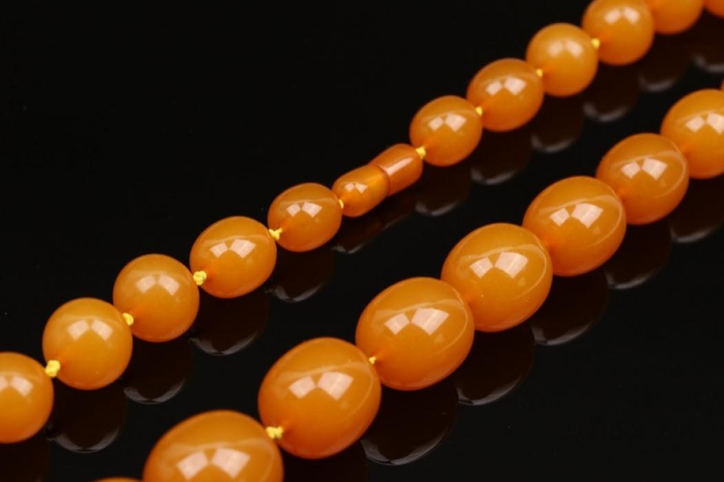 Honigfarbene Bernsteinkette