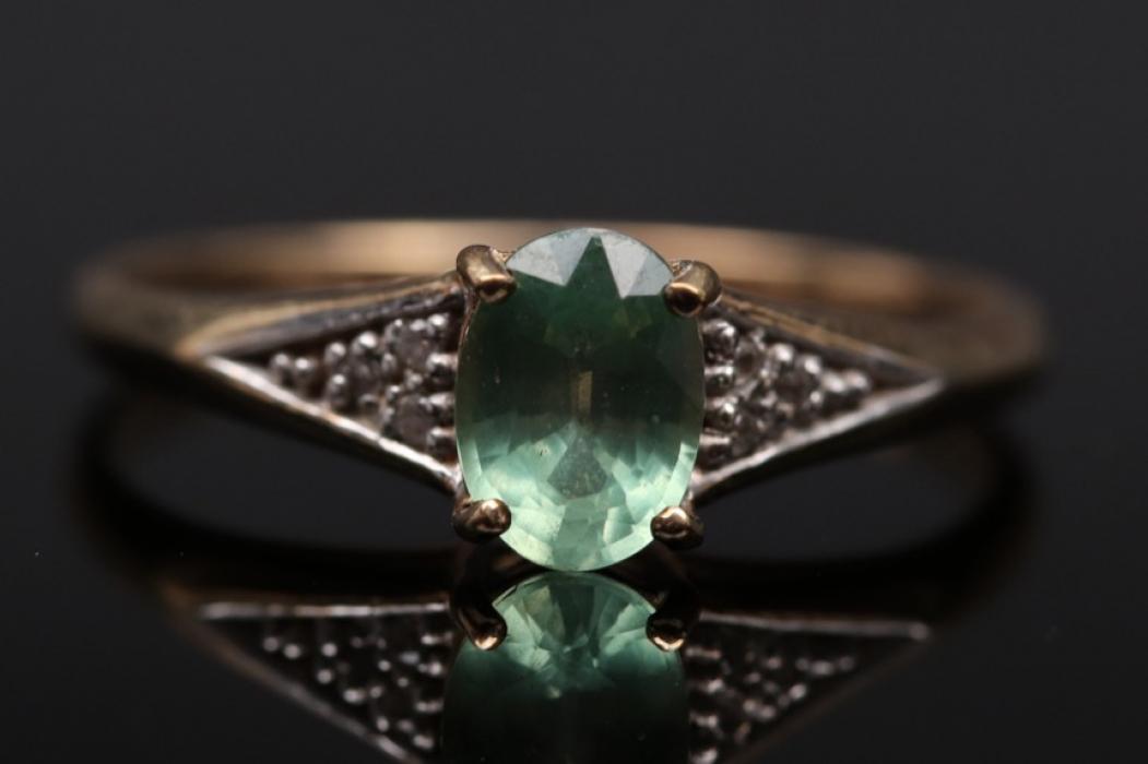 Ring mit kaiserlichem Cherysopras