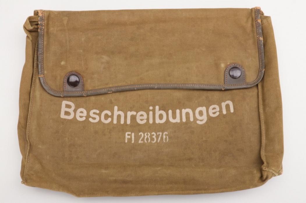 "Luftwaffe ""FT-Geräte"" cloth bag - Fl 28376"