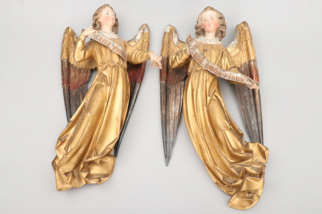 Zwei Florentiner Engel - 19. Jahrhundert