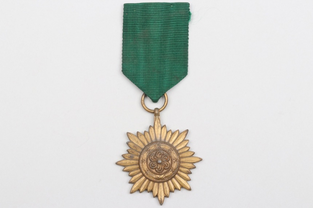 Ostvolk Decoration 2nd Class in gold without swords