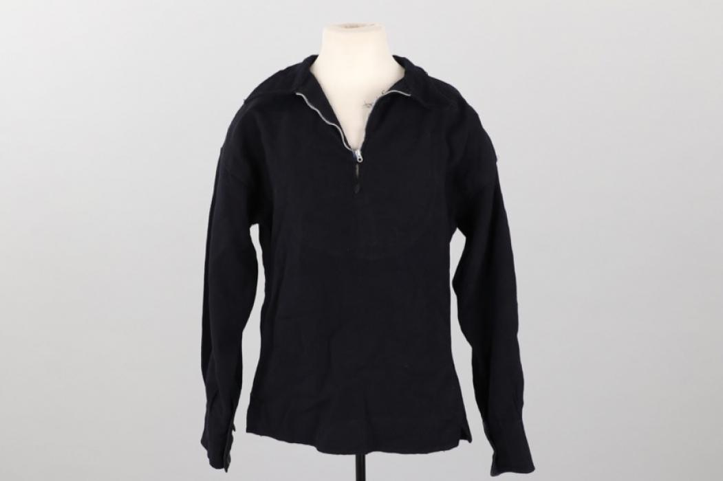 Kriegsmarine blue service shirt
