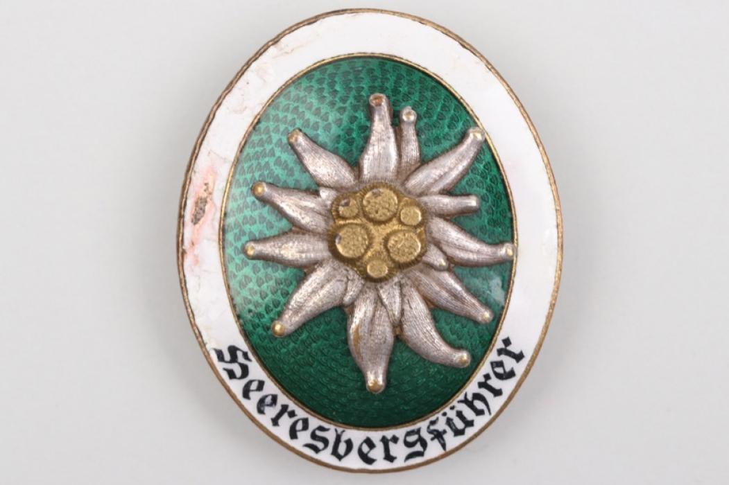 """Heer """"Heeresbergführer"""" Alpine Leader's Badge"""