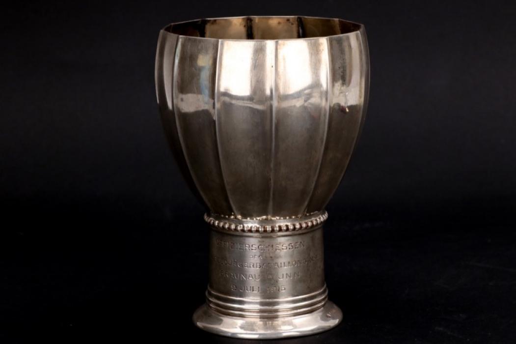 1915 KuK Feldjägerbataillon silver cup - 800