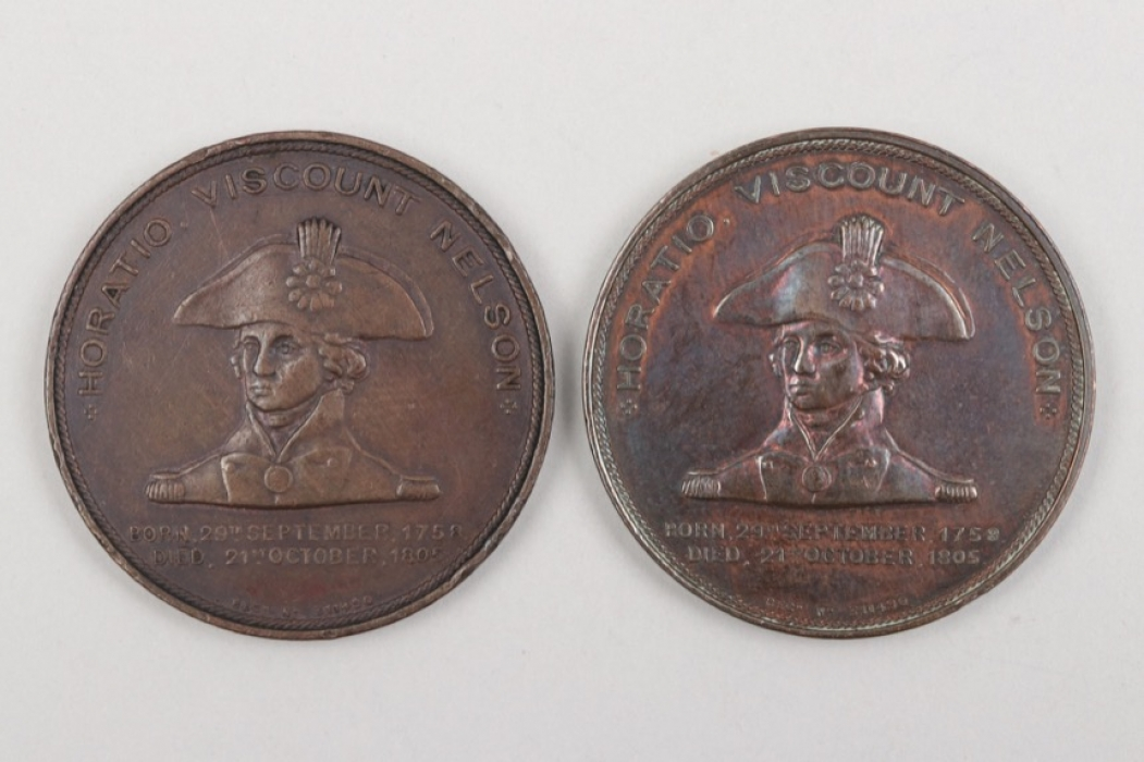Great Britain - 2 + Lord Nelson Medals